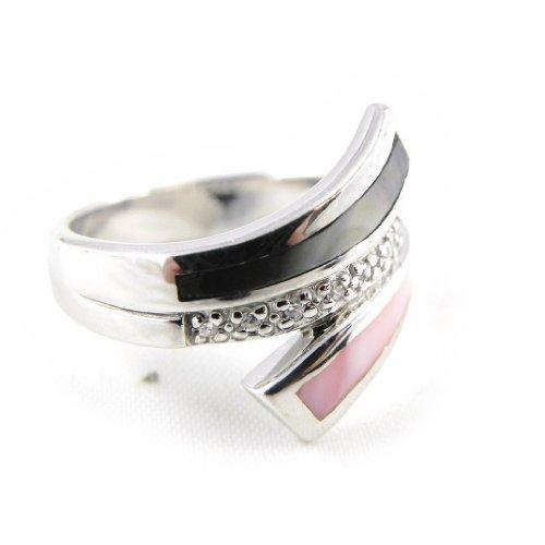 Altesse [H2865] - Ring silber 'Rêve En Nacre' .