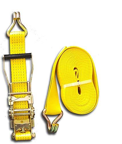 Trupa Spanngurt 5to 20m 50 mm /2-teilig Basis-Ratsche EN 12195-2 2500/5000 daN gelb