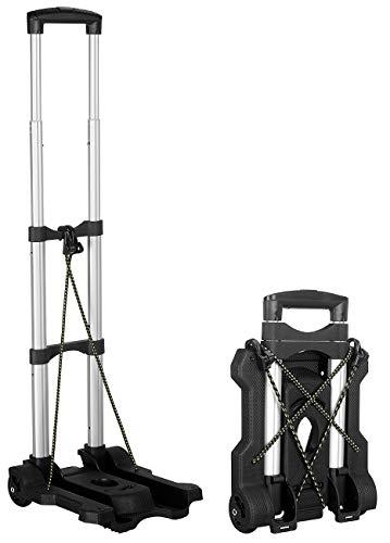 Xcase Camping Sackkarre: Ultra-kompakte Falt-Sackkarre mit PVC-Rädern, bis 45 kg belastbar (Transportkarre)