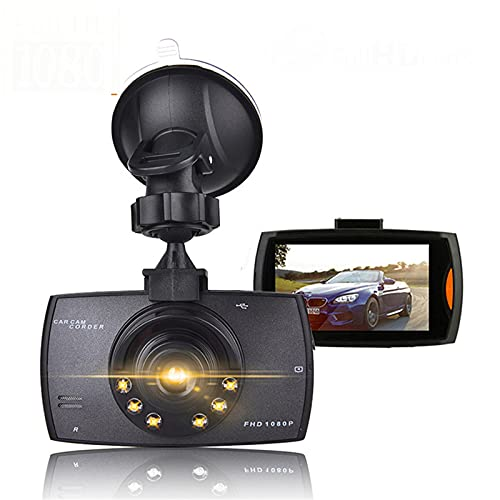 Grabador De Conducción DVR Para Coche, Cámara De Salpicadero, Full HD 1080P, 2,2', Grabación De Ciclo, Visión Nocturna, Gran Angular, Cámara De Salpicadero, Registrador De Vídeo