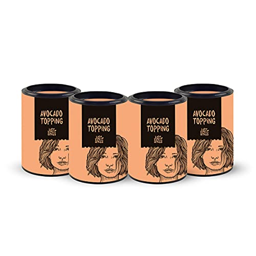 Just Spices Avocado Topping 4er-Box I Die Gewürzmischung für Avocado I Auch für Salate und Bowls I Praktische 4er-Box