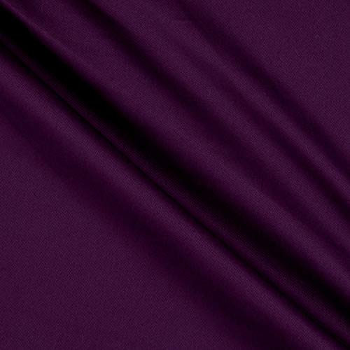 Textile Creations Cotton Twill Purple Fabric By The Yard