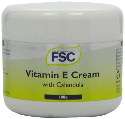 FSC Vitamin E Cream with Calendula 100ml (Pack of 6)