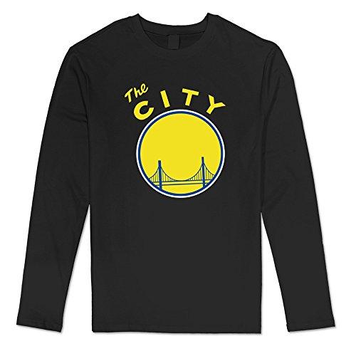 DF Mans historia Golden State Warriors Logo T-Shirt Crazy