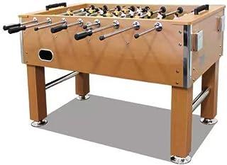 """Seg 60"""" Foosball Table Heavy Duty with Drink Holder, Oak"""
