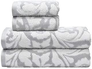 Better Homes & Gardens' 100% Cotton Comfortable Floral Waves 4 pc Bath Towel Set