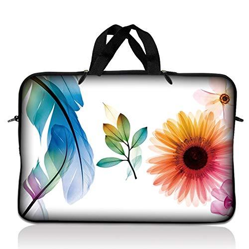 Neoprene Tablet LSS Laptop Sleeve Case W. Hidden Handle Para Apple Ipad...