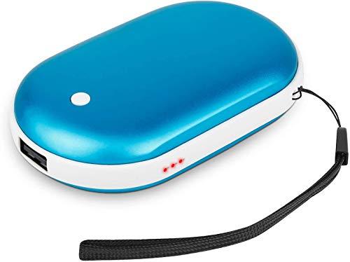 Fengshang - Calentador de manos recargable USB de 5200 mAh, eléctrico, de...