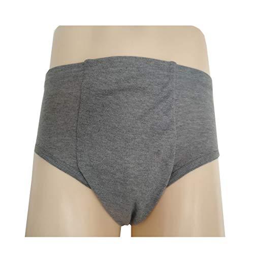 Dbtxwd Inkontinenzhose Für Erwachsene Waschbar Wiederverwendbare Inkontinenzunterwäsche Für Herren Und Damen,B,XXL