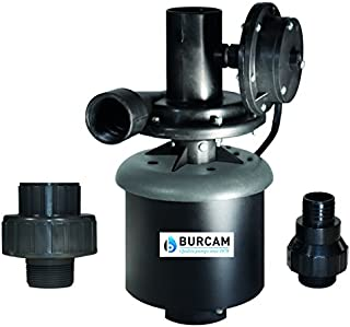BurCam 300514WH Laundry Tub Pump, Automatic Switch, 1/3 hp, 115V