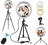 """Selfie Ring Light - 12"""" LED Ring Lights with Stand for Makeup YouTube"""