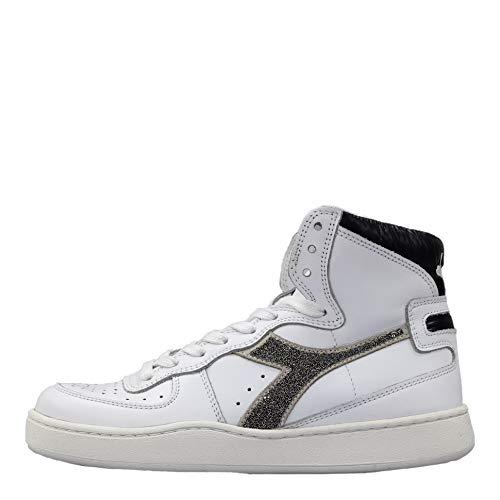 Diadora Heritage - Sneakers Mi Basket Lux per Donna (EU 38.5)