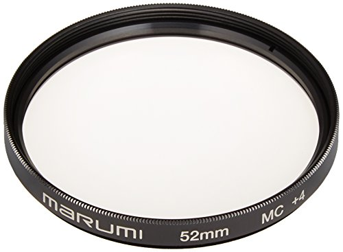 MARUMI カメラ用フィルター  クローズアップレンズ MC+4 52mm 近接撮影用 034074