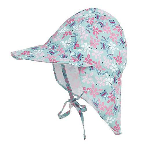 LACOFIA Baby Sun Protection Beach Hat