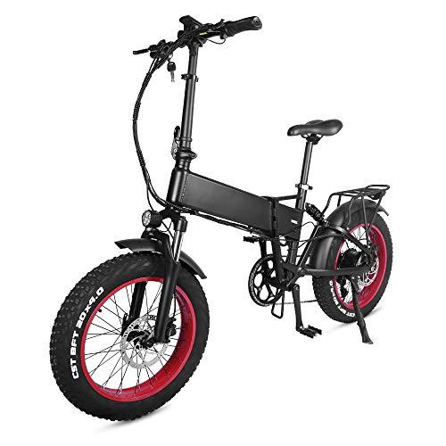 Accolmile 20 Zoll Faltbares Elektrofahrrad Fettreifen E-Bike 48V 750W BAFANG Motor 17Ah/17,5Ah Batterie