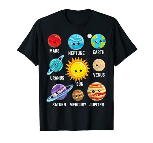 Solar System Planets Shirt T-Shirt