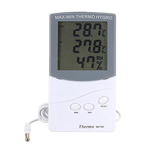 Wooya LCD Digital Thermometer Feuchtigkeit Meter Hygrometer Indoor Outdoor