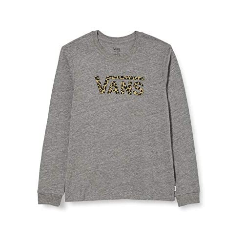 Vans Leopard V T-Shirt, Grigio Erica, M Bambina