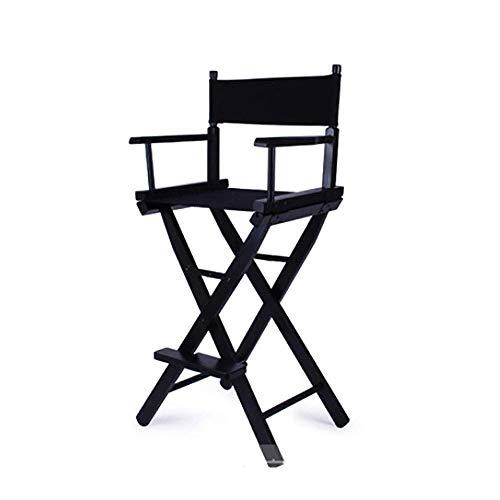 N/Z Wohngeräte Klappstühle Outdoor Directors Stuhl Klappbar Tragbar mit Fußstütze für den privaten oder gewerblichen Gebrauch Maskenbildner Stuhl Filmregie Tragbarer Stuhl