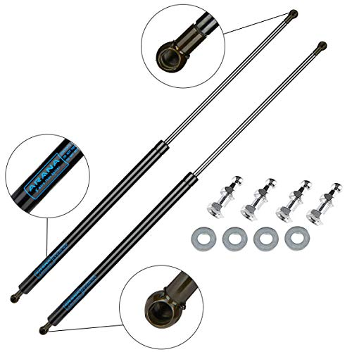 28 inch 200 Lbs (889 N) Gas Struts Spring Shocks 28' for Heavy Duty Trailer Cap Tonneau Cover Lift Supports (Support Weight: 170-230lbs), 2 Pcs Set ARANA