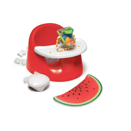Prince Lionheart bebePOD Flex Plus Baby Seat, Watermelon Red - Best Baby Floor Seat