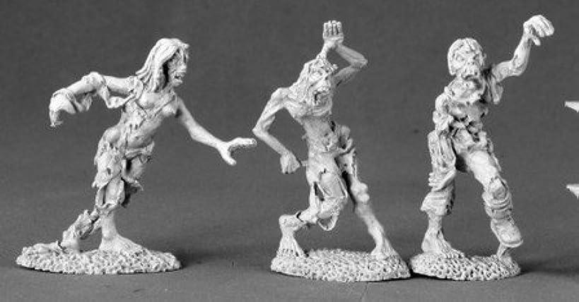 Zombies (3) Miniatures Dark Heaven Legends