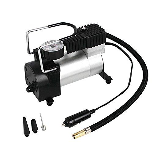 elettrico auto gonfiabile, 30mm di pompaggio cilindro Durable DC 12V metallo elettrico auto pneumatici gonfiabili di pompaggio pompe ad aria compressore 100psi