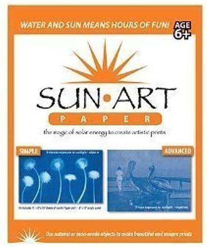 diseñador en linea Tedco 8    X 10  Sun Art Paper Kit - Use the Magic of Solar Energy to Create Artisitc Prints by Tedco  bajo precio