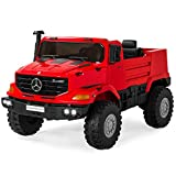 Best Choice Products Kids 24V 2-Seater Ride On SUV w/ Remote Control, 3.7 MPH, Red
