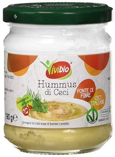 Vivibio Hummus di Ceci Bio - 6 x 190 g