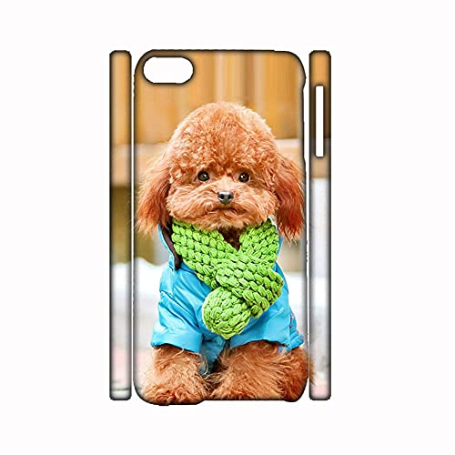 Desconocido Have with Poodle Phone Cases Hard Abs Compatible with Apple iPhone 5 5S Se Original Girls