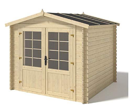 Salone Negozio Online Caseta Kelly de madera nórdica, 300 x 200 x 223 cm, sin suelo