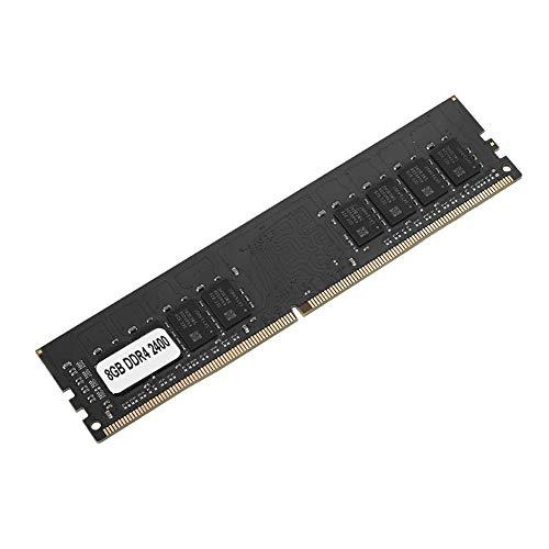 Tangxi RAM DDR4,Memoria DDR4,Memoria DDR4 de 4 GB/8 GB/16 GB PC4-19200 2400MHz 288Pin 1.2V,Memoria de Escritorio para la Placa Madre Intel/AMD,Módulos de Memoria de Escritorio,Negro(8G)