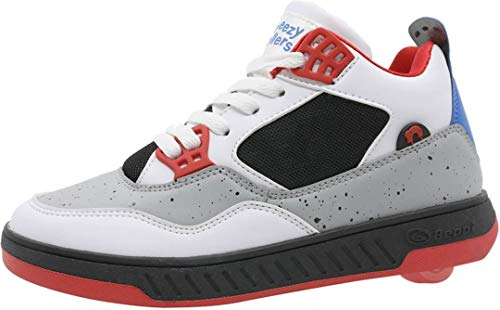 BREEZY ROLLERS BEPPI 2182700 Schuh mit Rollen White/red/Multi, 32