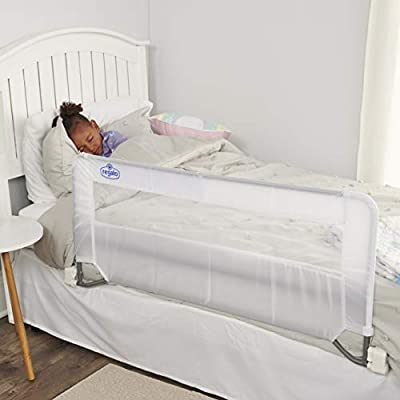 Regalo Swing Down Bed Rail Guard, with Reinforced Anchor Safety System from Regalo