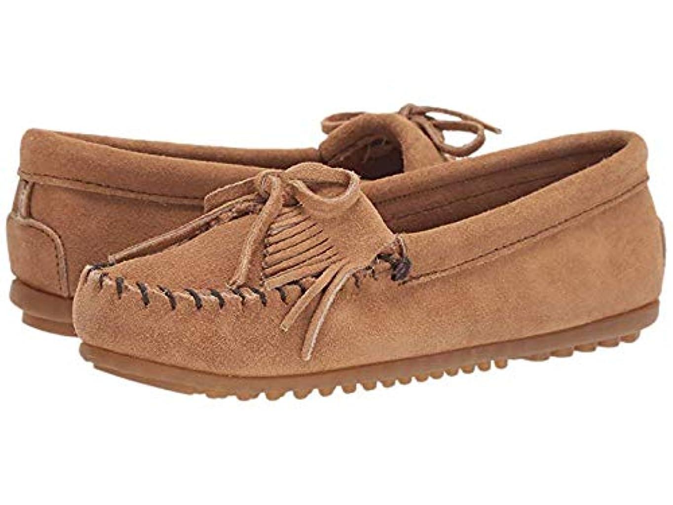 ギャップ山歯レディースローファー?靴 Kilty Suede Moc Taupe Suede (22cm) M [並行輸入品]