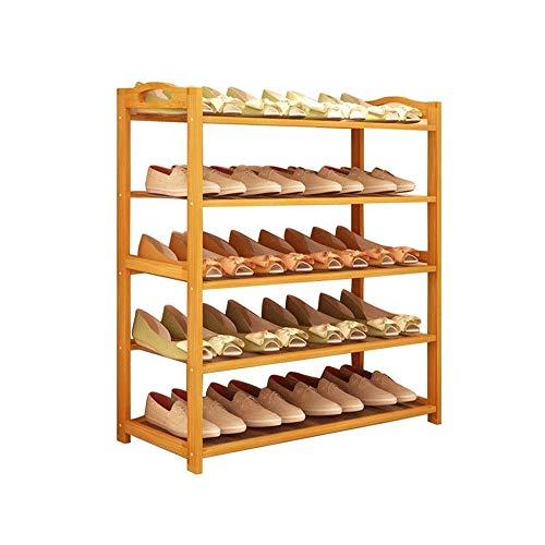 KCSds Schoenenrek, schoen opbergkast Shoe Stand bergkast Dressoir Organisator Home Storage Planken, Multifunctionele Racks, 5 Tier Sideboard Organizer