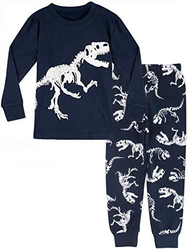 MOMBEBE COSLAND Pijama Dinosaurio Niños Manga Larga