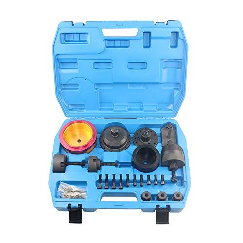 DPTOOL Crankshaft Seal Removal Kit,Crankshaft Front and Rear Oil Seal Remover and Installer Kit for BMW N42 N45 N46 N52 N53 N54 N55 Engine