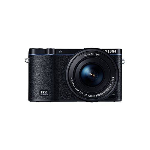 Samsung NX 3300 + 16 – 50 Power Zoom MILC 19.3 MP CMOS 5472 x 3648pixels schwarz – Digitalkameras (20,3 MP, 5472 x 3648 Pixel, CMOS, Full HD, 230 g, schwarz)