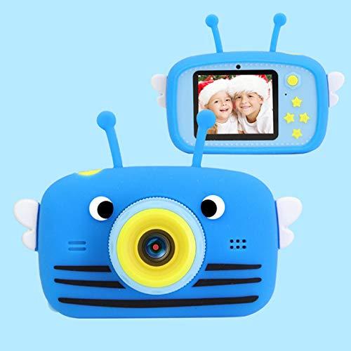 BEESCLOVER X9P Niños Cámara Juguetes Niños Cámara Digital Niños Mini Lindo Video Foto 2' 1080P HD Niños Niñas Regalos de Cumpleaños Azul Estilo de Vida Creativo