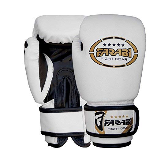 Farabi Sports Kids Boxing Gloves Junior Mitts Junior MMA Kickboxing Sparring Gloves