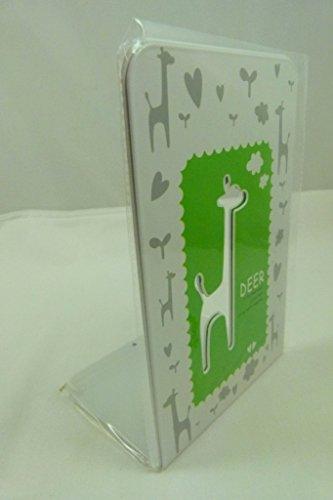 Une paire de haut mignon animal Qualité Métal Serre (Vert)