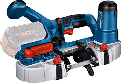Bosch Professional 18V System Akku Bandsäge GCB 18V-63 (inkl. 1x Bandsägeblatt, ohne Akkus und Ladegerät, in L-BOXX 238)