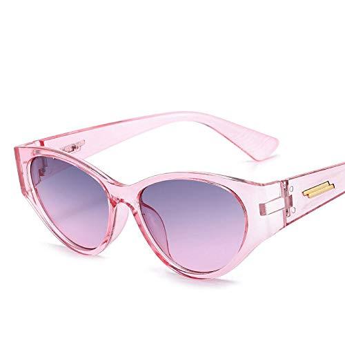 NJJX Gafas De Sol De Ojo De Gato Únicas Para Mujer, Diseñador De Marca Vintage, Gafas De Sol De Ojo De Gato, Montura Pequeña, Gafas De Pesca Al Aire Libre Retro, Uv400, Púrpura, Gris, Rosa Para Mujer