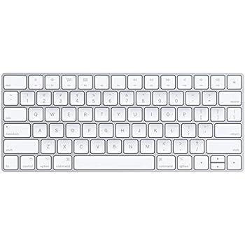 Apple Magic Keyboard (Wireless, Rechargable) (US English) - Silver