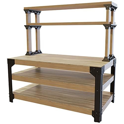 2x4basics 90164 Workbench and Shelving Storage System -