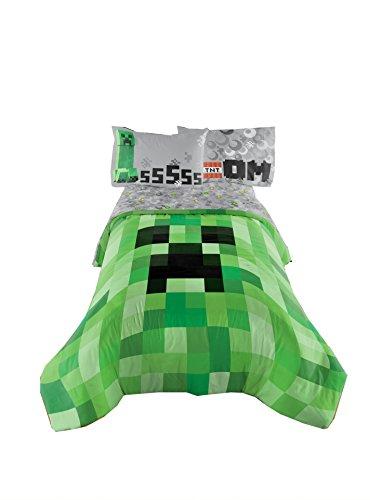 Minecraft Excellente conçu Parure de lit enfants confortable Twin/Full Doudou 182,9 x 218,4 cm