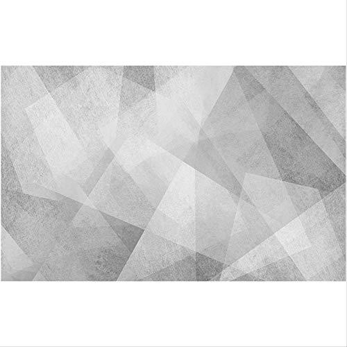 Radiancy Inc Modernes minimalistisches Wandtuch, schwarz-weiß, geometrische Sofa-Hintergrundtapete, graue Tapete, Wohnzimmer-Wandtuch