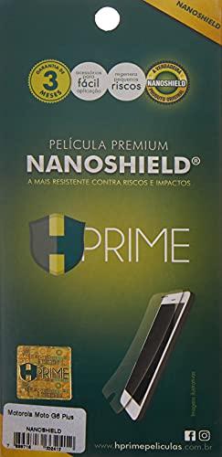 Pelicula HPrime NanoShield para Motorola Moto G6 Plus, Hprime, Película Protetora de Tela para Celular, Transparente